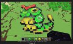 Minecraft Caterpie by Phenri
