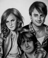 EMMA, DANIEL and RUPERT by AngelasPortraits