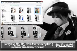 Taeyeon Mr.Mr. 2 Live Folder Icon Pack by Rizzie23