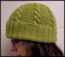 Cable Hat by Merlinburgh