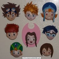 8 DigiDestined Magnets by HeyLookASign