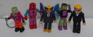 Harvey Birdman miniMates by Derrico13