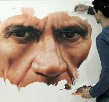 Hyper Realistic Painting  oil on canvas by Millani by fabianoMillani