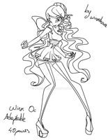 New Adoptable WInx OC :MW: SOLD by winxchara