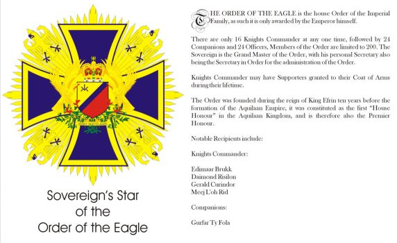Order of the Eagle Page by Ienkoron
