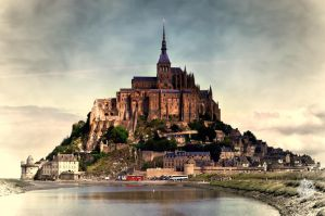 Mont-Saint-Michel by XanaduPhotography