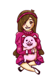 Mabel and Waddles by Managodess