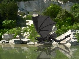 Toothless - Try to Fly by Shadow-and-Flame-86