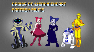The Droids of LKHFF by BennytheBeast