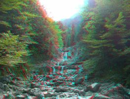 Cascade 3D Anaglyph by yellowishhaze