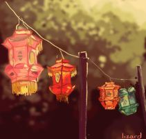 Chinese Lanterns by SiberianLizard