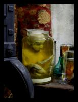 Thorvald the pickled gnome by ZombieArmadillo