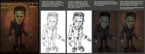 Famous Movie Monsters - 2 by ChrisNoeth