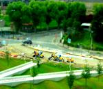 Tiny Construction Tractors - Tiltshift by Cloudwhisperer67
