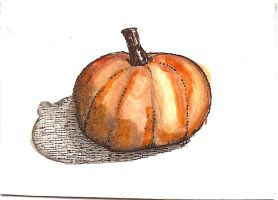 ATC Pumpkin Cheese by claudiamm37