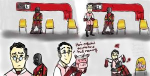 TF2 Mini Comic: A Full Recovery by IsabelleBlackHeart