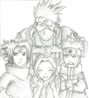 team kakashi by loulou94