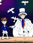 Case Closed / Detective Conan / Kaito Kid by Robin-Reignfall