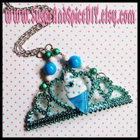 Ice Cream Tiara Necklace by SugarAndSpiceDIY