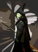 The Not-so-wicked Witch by logicaldelusions