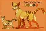 Raccoontail Ref COMMISH by 1skylight1