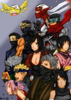Ninja revolution 2006 colored by buuzen