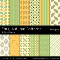 Early Autumn Patterns by MysticEmma