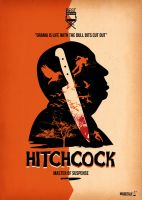 Alfred Hitchcock by funky23
