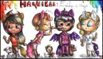 Chibi Hannibal - My Litlle Pony cosplays by FuriarossaAndMimma