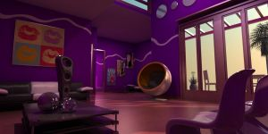 3d Interior - G project by Arx-Design