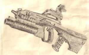 AUG A3 Ink by xchainlinkx
