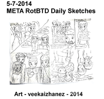 META RotBTD 2014 Daily Sketch 7-5 by veekaizhanez
