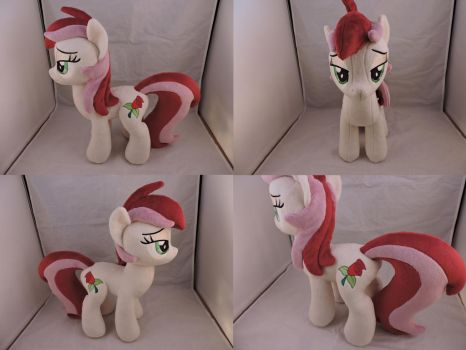 MLP Roseluck Plush by Little-Broy-Peep