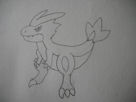 Fakemon Torclaw by EpicFail222
