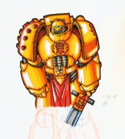 Imperial Fist by MathiasTemplar