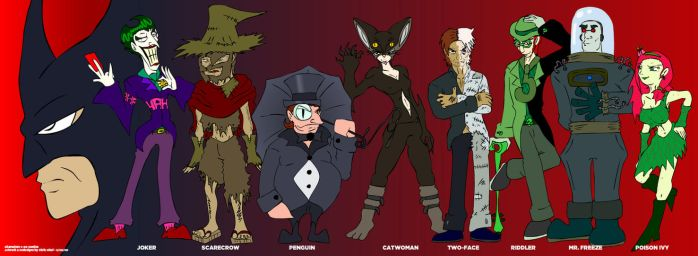 The Freaks of Gotham by Kirbopher15