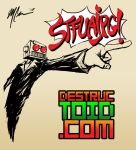 DESTRUCTOID STFUAJPG shirt by GuitarAtomik