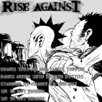 Rise Against: Not Running by Thystan