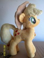 AppleJack Plush with minky hat. SOLD by SiamchuchusPlushies