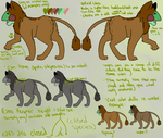 Frog griffin ref (CLOSED SPECIES) by Silverfang10001