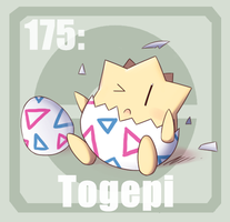 175 Togepi by Pokedex