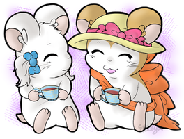 Comm: Tea Time by Space-Crystal