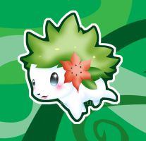 Shaymin Land Forme 2.0 by Clinkorz