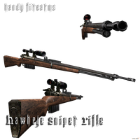 Hawkeye Bolt-Action Sniper Rifle by DamianHandy