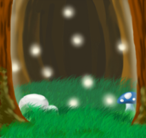 .::Forest::. by AmaterasuWarrior