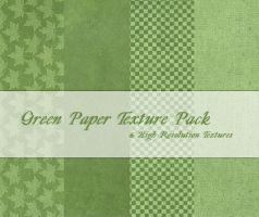 Green Paper Texture Pack by powerpuffjazz