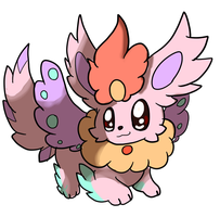 Eevee Flying Type by LizardonEievui13
