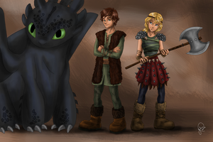 How to train your dragon by juliajm15