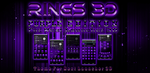 Theme For Next Launcher 3D Rings Purple by ArtsCreativeGroup