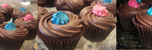 Chocolate cupcakes by S-y-c